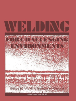 Welding for Challenging Environments: Proceedings of the International Conference on Welding for Challenging Environments, Toronto, Ontario, Canada, 15–17 October 1985