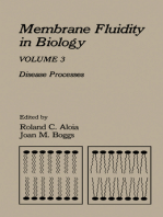 Membrane Fluidity in Biology