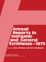 Annual Reports in Inorganic and General Syntheses–1975