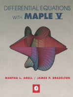 Differential Equations with Maple V®