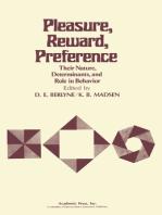 Pleasure, Reward, Preference