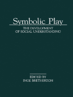 Symbolic Play: The Development of Social Understanding
