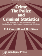 Crime, the Police and Criminal Statistics