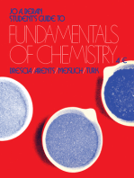 Student's Guide to Fundamentals of Chemistry