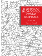 Essentials of Error-Control Coding Techniques