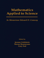 Mathematics Applied to Science