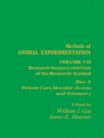 Research Surgery and Care of the Research Animal