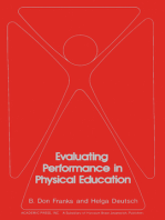 Evaluating Performance in Physical Education