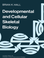 Developmental and Cellular Skeletal Biology