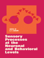 Sensory Processes at the Neuronal and Behavioral Levels