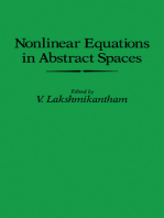 Nonlinear Equations in Abstract Spaces