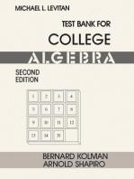 Test Bank for College Algebra