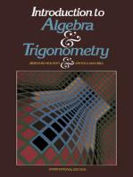 Introduction to Algebra and Trigonometry