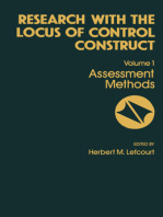 Research with the Locus of Control Construct