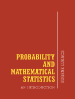 Probability and Mathematical Statistics: An Introduction