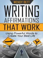 Writing Affirmations That Work