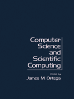 Computer Science and Scientific Computing: Proceedings of the Third ICASE Conference on Scientific Computing, Williamsburg, Virginia, April 1 and 2, 1976
