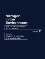 Soil–Plant–Nitrogen Relationships