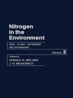 Soil–Plant–Nitrogen Relationships
