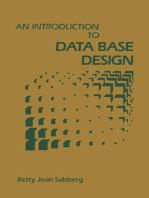 An Introduction to Data Base Design