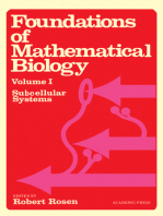 Foundations of Mathematical Biology