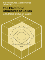 The Electronic Structures of Solids