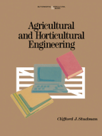 Agricultural and Horticultural Engineering