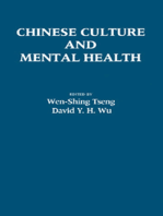 Chinese Culture and Mental Health