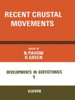 Recent Crustal Movements