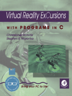 Virtual Reality Excursions with Programs in C
