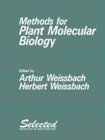 Methods for Plant Molecular Biology