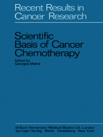 Scientific Basis of Cancer Chemotherapy
