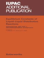Equilibrium Constants of Liquid-Liquid Distribution Reactions