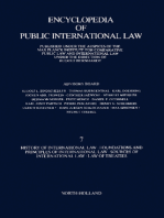 History of International Law · Foundations and Principles of International Law · Sources of International Law · Law of Treaties