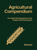 Agricultural Compendium: For Rural Development in the Tropics and Subtropics