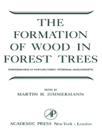 The Formation of Wood in Forest Trees: The Second Symposium Held under the Auspices of the Maria Moors Cabot Foundation for Botanical Research, Harvard Forest, April, 1963