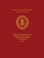 Blood Cells and Plasma Proteins