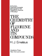 The Chemistry of Fluorine and Its Compounds