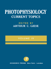 Photophysiology: Current Topics