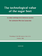 The Technological Value of the Sugar Beet: Proceedings of the XIth Session of the Commission Internationale Technique de Sucrerie, Frankfurt, 1960