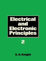 Electrical and Electronic Principles: Volume 2