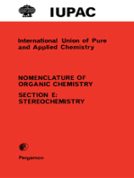 Rules for the Nomenclature of Organic Chemistry: Section E: Stereochemistry (Recommendations 1974)