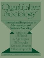 Quantitative Sociology