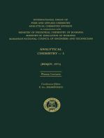 Analytical Chemistry—3