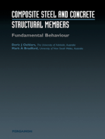 Composite Steel and Concrete Structures: Fundamental Behaviour (Second Edition): Fundamental Behaviour