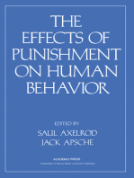 Effects of Punishment on Human Behavior