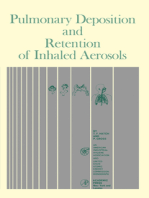 Pulmonary Deposition and Retention of Inhaled Aerosols