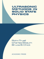 Ultrasonic Methods in Solid State Physics
