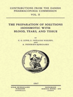 The Preparation of Solutions Isoosmotic with Blood, Tears, and Tissue