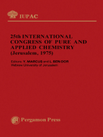 25th International Congress of Pure and Applied Chemistry: Plenary Lectures Presented at the 25th International Congress of Pure and Applied Chemistry, Jerusalem, Israel 6–11 July 1975